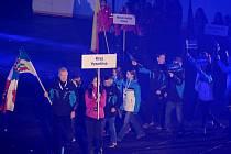 Slavnostní zahájení v Kotlině.