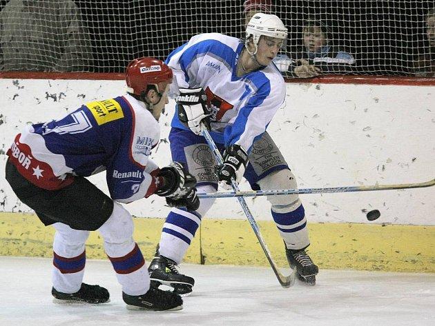 Světelští hokejisté dokázali vyhrát nad Hlinskem i bez dvou největších tahounů.