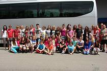 Devětatřicet žáků Základní školy Lánecká odjelo v neděli se svými učiteli na osmidenní poznávací zájezd do Londýna.