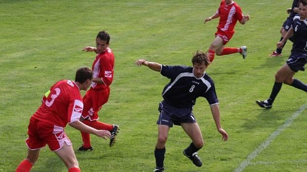 fotbal Dlouhá Ves - Ledeč n. S.