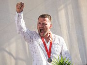 Zápasník Marek Švec dostal 14. srpna na slavnostním ceremoniálu v Havlíčkově Brodě bronzovou medaili z olympijských her v Pekingu z roku 2008. Jeho tehdejší přemožitel v přímém souboji o třetí místo ve váhové kategorii do 96 kg v řecko-římském stylu Asset