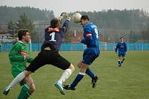 Havlíčkobrodský Slovan doma na jaře už podruhé ztratil výhru v nastaveném čase.