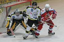 V duelu domácího Havlíčkova Brodu s Kadaní hráčům na gól šedesát minut nestačilo. Rozhodnutí z hole Aleše Jelínka padlo až v prodloužení.
