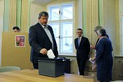 Hlasování o novém starostovi města
