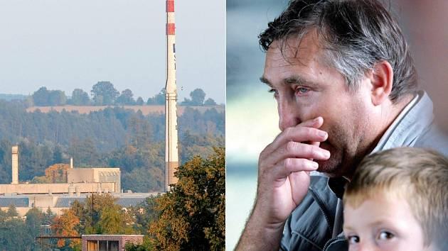 Podnik Sklo Bohemia ve Světlé nad Sázavou ( na snímku vlevo) končí! Situace byla velmi emotivní, lidé nevěděli, co s nimi bude. Mnohým z nich se v očích objevily slzy. Podobné pocity zažíval i Bohuslav Dědič, který pracoval ve sklárnách 35 let (vpravo).