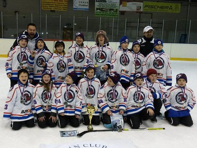 Úspěšný tým mladších žáků Chotěboře.