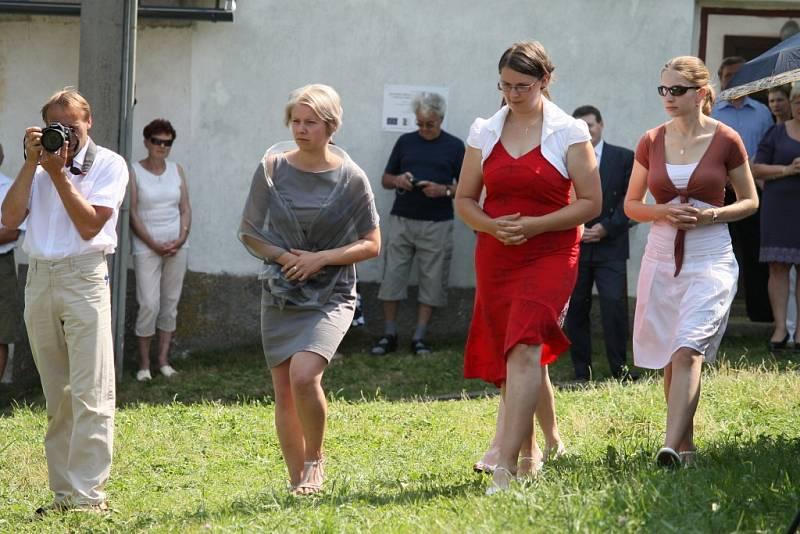 Biřmování v Havlíčkově Borové.