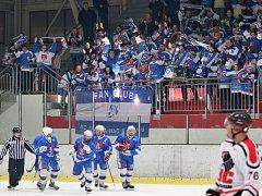 Jedna výhra dělí světelské hokejisty od druhého naplnění cíle, zisku Superpoháru. Stačí jim vyhrát na ledě Náchoda.