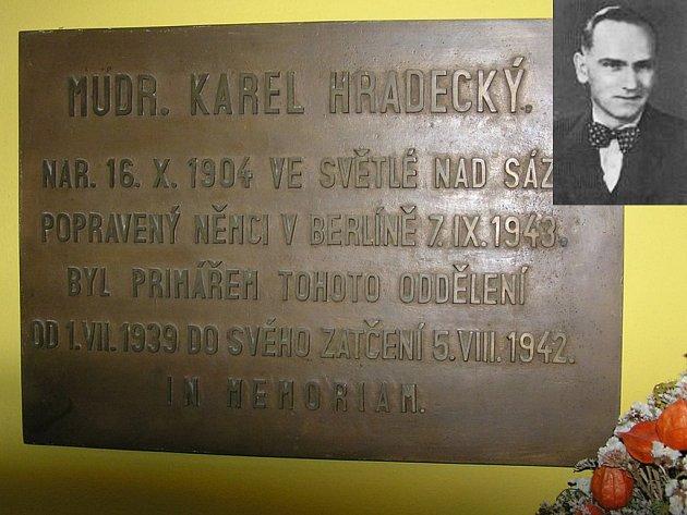 Statečný lékař se zapsal do historie nejen v rodném městě, ale i v západočeských Strakonicích, kde působil od 1. července 1939, kdy byl jmenován primářem interního oddělení ve zdejší nemocnici.