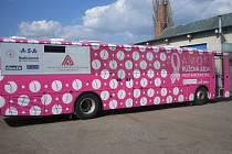 Růžová jízda proti rakovině prsu, to je název projektu, který pomáhá ženám získat informace o prevenci a způsobech léčby rakoviny prsu.