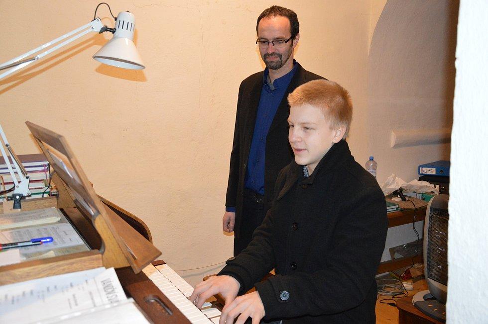 Varhanní koncert ve Světlé nad Sázavou.