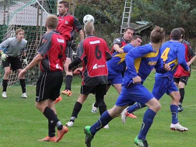 Smůlu si v zápase s Polnou B vybrali fotbalisté brodského béčka, kteří inkasovali vyrovnávací gól v samém závěru utkání.