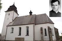 Kněz z Číhoště prožil tragický osud, podle Nadačního fondu, který pečuje o kostel v Číhošti, by měl být páter pohřben právě u něho.