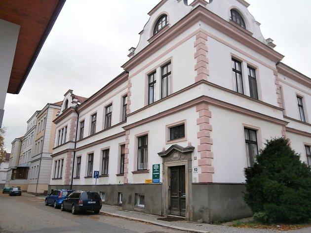 Budova č. 10 havlíčkobrodské nemocnice.