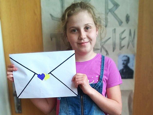 Dopis porotu zaujal a Barbara obsadila překrásné třetí místo.