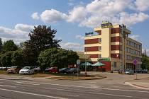 Hotel Slunce v Havlíčkově Brodě.