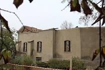 Rekonstrukce kostelíka svaté Kateřiny v Havlíčkově Brodě pokračuje.