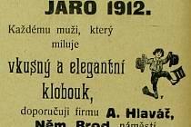 Stejně jako dnes, tak i před sto lety se v novinách objevovala inzerce. Vypadala takřka poeticky.