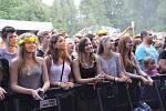 Šestnáctý ročník multižánrového hudebního festivalu Sázavafest.