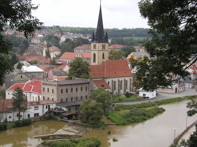 Město Ledeč nad Sázavou.