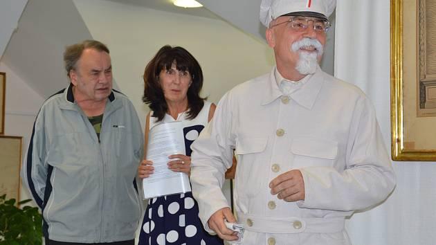 Výstavu ve Světlé nad Sázavou zahájil Masaryk.