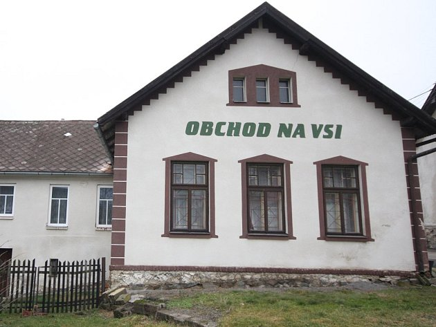 Smysl pro krásu mateřštiny zůstal v maličké obci Slavětín, kde je k vidění prosté pojmenování jediné prodejny potravin a smíšeného zboží - Obchod na vsi.