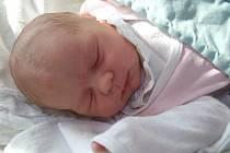 Anna Vrhelová, Havlíčkův Brod, 17. 04. 2011, 3600 g