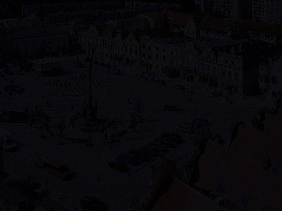 Havlíčkobrodské náměstí okamžik po blackoutu.....Ilustrační foto: