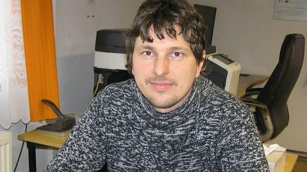 Starosta Modlíkova Petr Čermák.