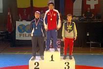 Na nejvyšší stupeň vítězů v dánském Aaarhusu vystoupil brodský zápasník Libor Milichovský.