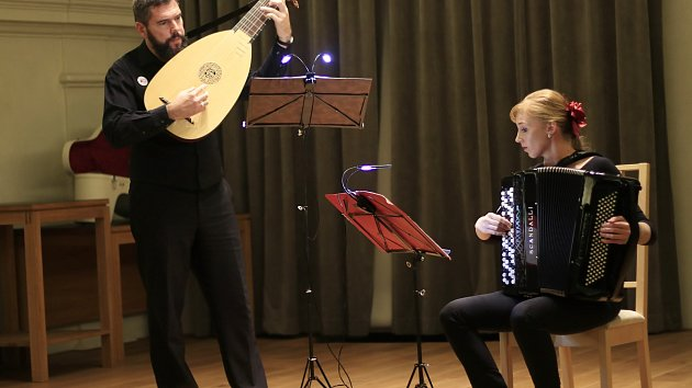 Koncert Jindřicha Macka a Jitky Baštové