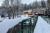 Zimní procházka na Stvořidlech u Ledče nad Sázavou. Foto: Jan Šafránek