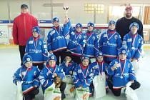 Malí chotěbořští hokejisté skončili druzí.
