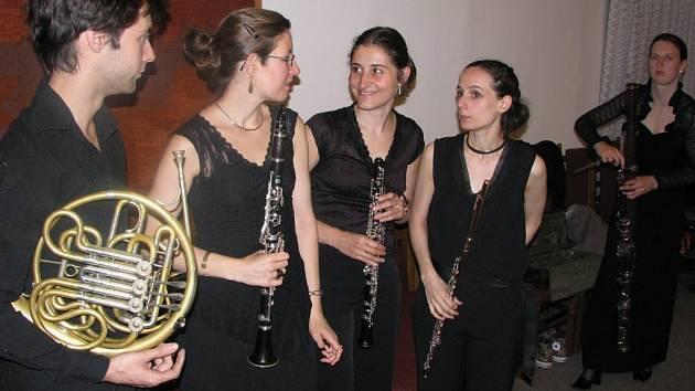 Hudební festival Stamicovy slavnosti zakončil koncert francouzského dechového kvinteta Aquilon.