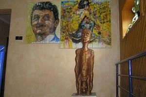 Během Dnů otevřených ateliérů si mohou návštěvníci prohlédnout třeba přibyslavskou galerii rodiny Janáčkových.