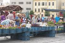 Náměstí v Havlíčkově Brodě. Ilustrační foto.