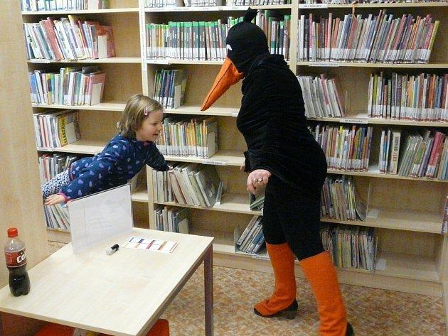 Den pro dětskou knihu v Krajské knihovně Vysočiny.