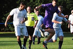 Fotbalový rozhodčí, ilustrační foto.