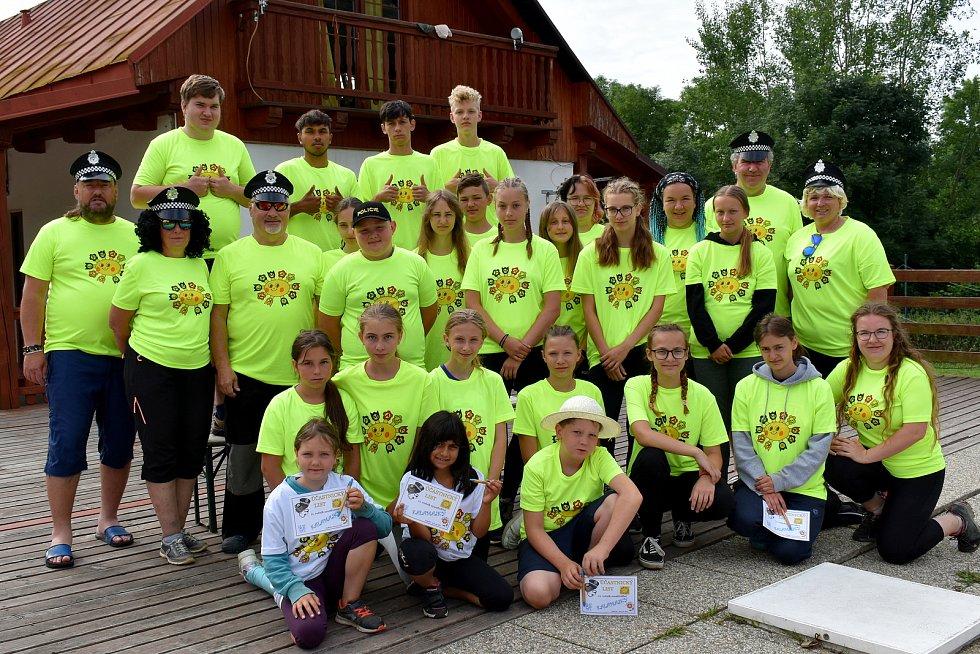 Letní prázdninové soustředění si užili členové dětského folklorního souboru Kalamajka z Havlíčkova Brodu.