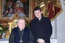 Jedním z těch, s nimiž Milan Kopecký točil rozhlasové dokumenty, byl i arcibiskup Karel Otčenášek. Mluvili  o Želivském klášteře.