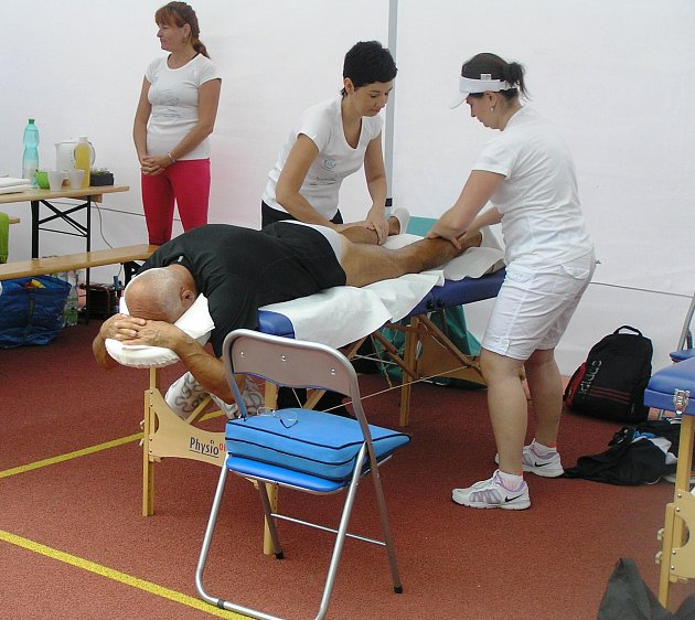 Pořadatelé Havlíčkobrodského půlmaratonu nabídli závodníkům servis na profesionální úrovni.