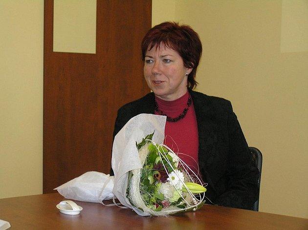 Oceněná Jiřina Marešová