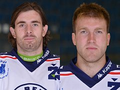 Lukáš Endál (vlevo) a Petr Štěpánek.