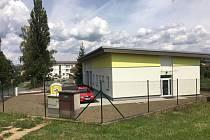 Nové prostory ledečské zdravotnické záchranné služby.