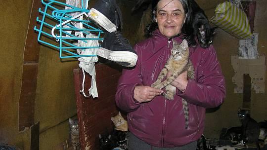 Manželé Kaprálovi, chovatelé koček