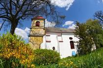Kostel v Heřmani.