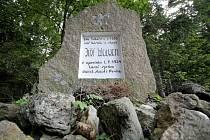 U památníku Jiřího Wolkera tábořili před sto lety první skauti.
