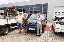 Elektromobil pro potřeby pečovatelské služby koupilo město Ždírec nad Doubravou.