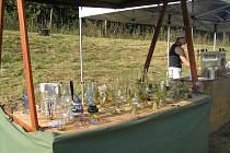 Jak vypadala práce sklářů před stovkami let se mohli v sobotu 31. srpna přesvědčit návštěvníci Havlíčkova Brodu.