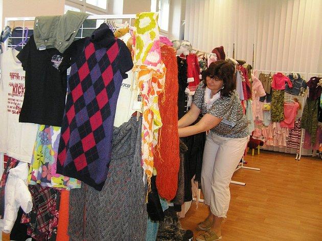 Celý týden je v mateřském centru Zvoneček otevřen dobročinný bazar.